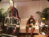 Flo Rida backstage in Miami
