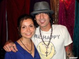 Rafaela with Tommy Lee